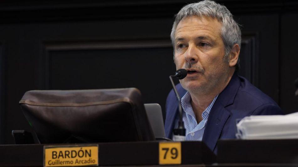El diputado provincial de Cambio Federal, Guillermo Bardón