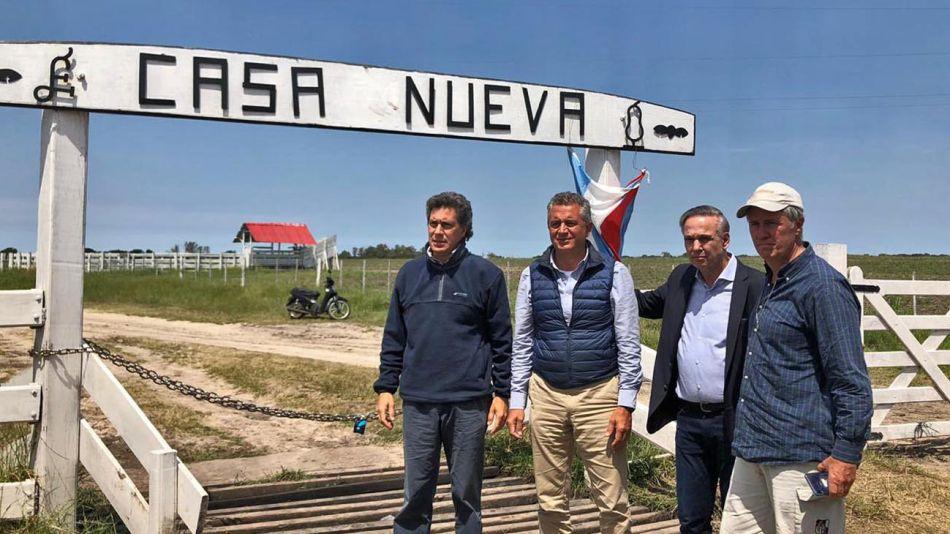 Miguel Angel Pichetto y los hermanos Etchevehere 20201028