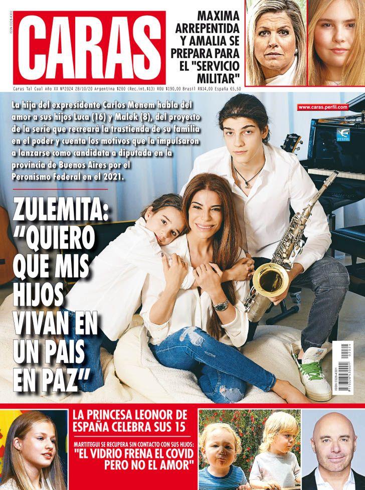"""Zulemita Menen: """"Quiero que mis hijos vivan en un país en paz"""""""