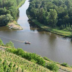 En la ciudad de Melnik, en la confluencia de los ríos Elba y Moldava, hay casi 90 viticultures para una población de apenas 20.000 habitantes. Foto: Larissa Loges/dpa