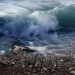 El estrecho de Barry Arm, en Alaska, puede ser escenario de un tsunami como consecuencia del derretimiento de los hielos.
