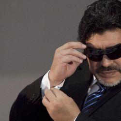 Diego Maradona cumplió 60 años.  // Cedoc Perfil