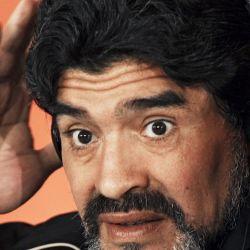 Diego Maradona, antes de asumir como director técnico de la Selección Argentina.  // Cedoc Perfil