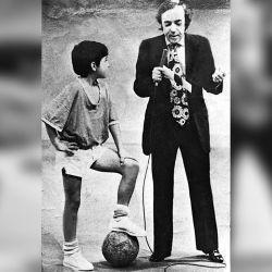 Una vieja entrevista a un Diego Maradona que daba sus primeros pasos como futbolista. // Cedoc Perfil