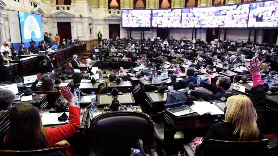 Sesión del Presupuesto 2021 en la Cámara de Diputados