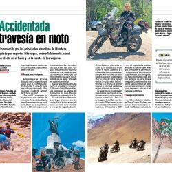 Exigente y accidentada travesía en moto por los atractivos más importantes de Mendoza.