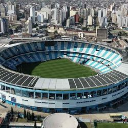 Vista del estadio de Racing desde un dron.