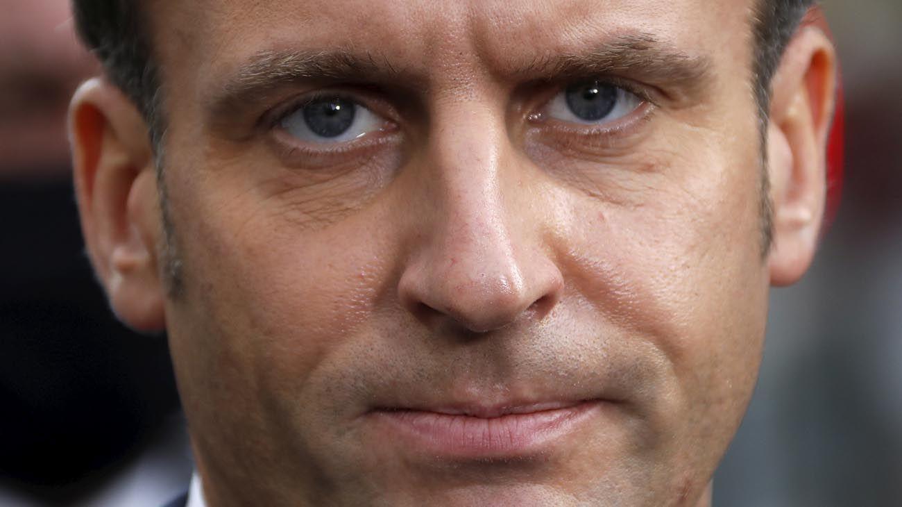 Emmanuel Macron presidente francés