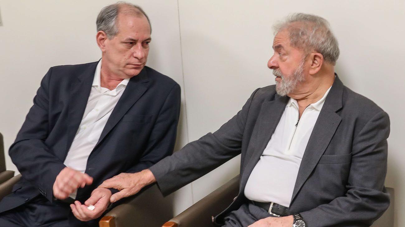 Luiz Inacio Lula Da Silva y Ciro Gomez