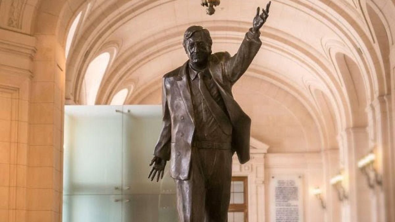 Estatua Néstor Kirchner. | Foto:CCK.