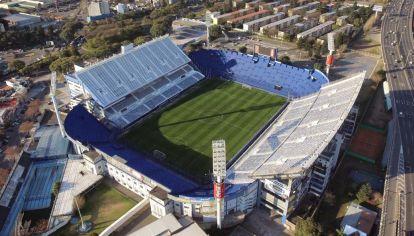 Así se ve el estadio de Velez Sarsfield desde un dron