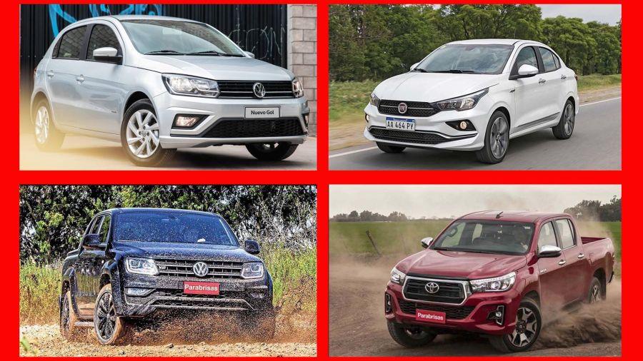 Los 20 autos 0km más vendidos de la Argentina en octubre