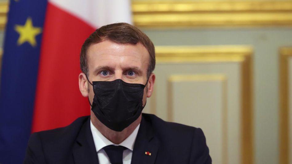 Emmanuel Macron 20201030