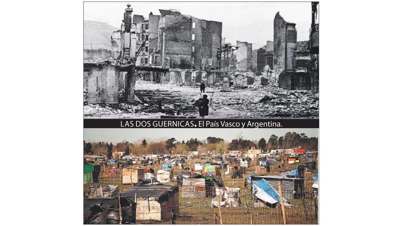 Las dos Guernicas. el país vasco y argentina.