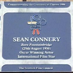 Funtainbridge es el barrio humilde de Escocia, hoy de moda, en que nació Sean Connery.