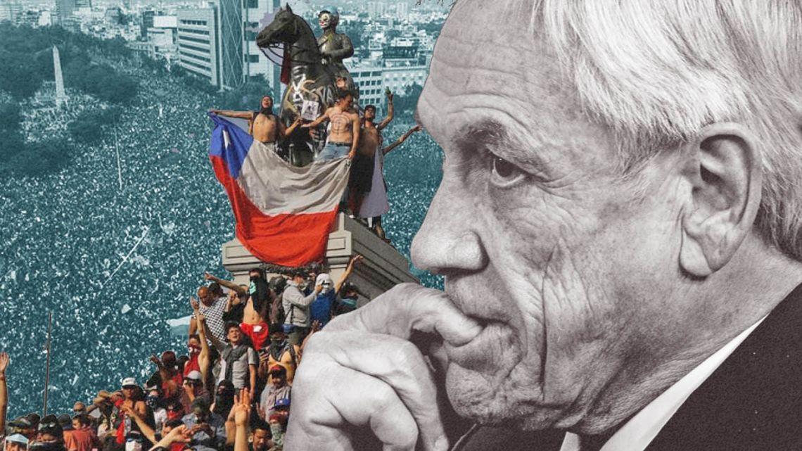 Piñera, President of Chile.