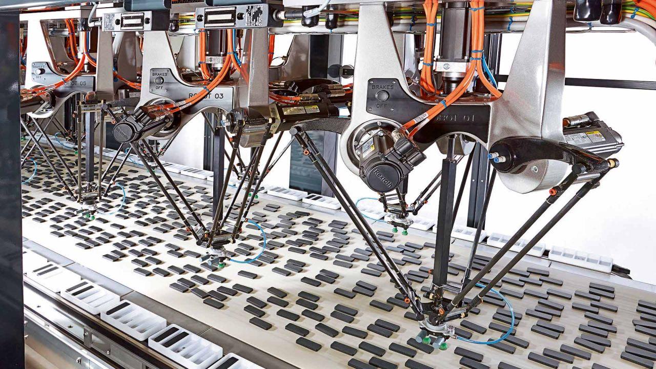 Robots trabajando | Foto:cedoc
