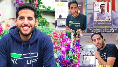 Respuesta. El joven fue acusado de recibir dinero del gobierno de Jerusalén por Mahmoud Nawajaa, que lidera las campañas internacionales de boicot contra Israel.