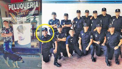 Víctima. Guillermo Aguirre tenía 46 años y su local en Trujui (izq.). Acusado. Mario Churquina ingresó a la fuerza hace dos años (der).