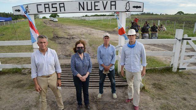 Cronología fotográfica del caso Etchevehere. Fotos de Pablo Cuarterolo.
