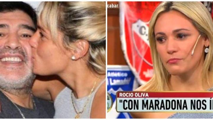 Revelan los motivos por los que la familia de Diego Maradona no dejó entrar a Rocío Oliva al velorio
