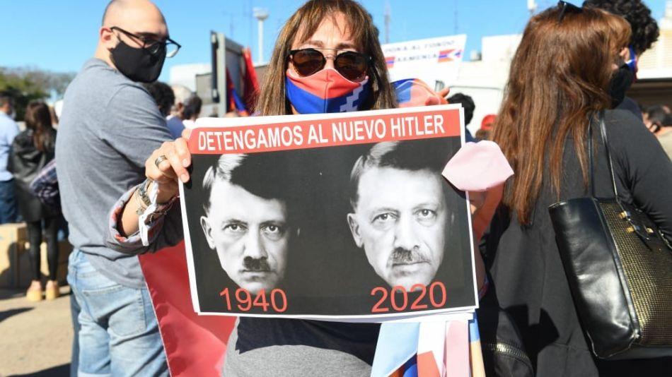 Marcha por la paz en Armenia