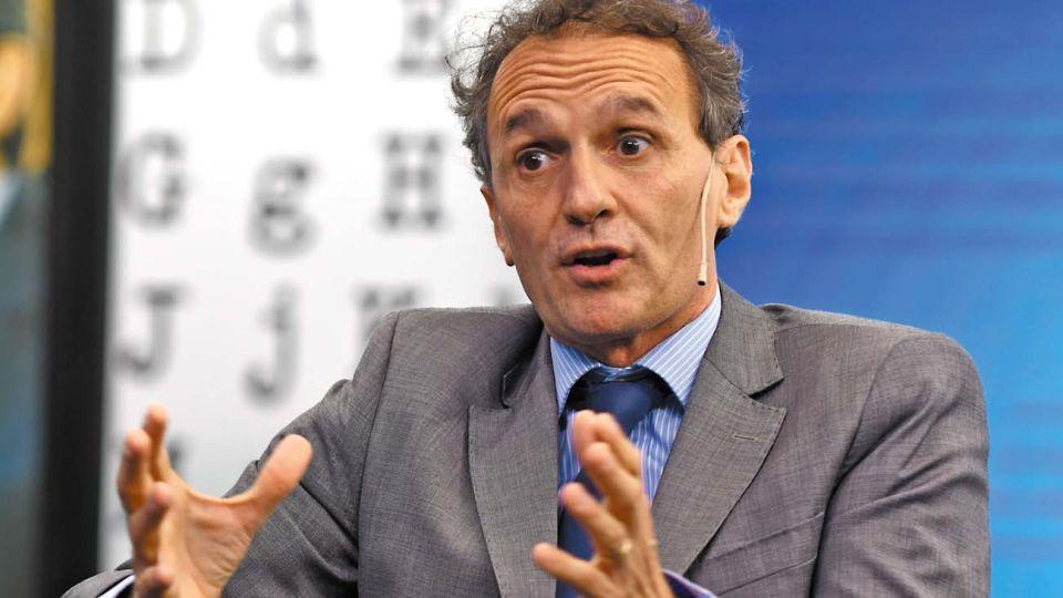 Gabriel Katopodis, en la entrevista con Jorge Fontevecchia.