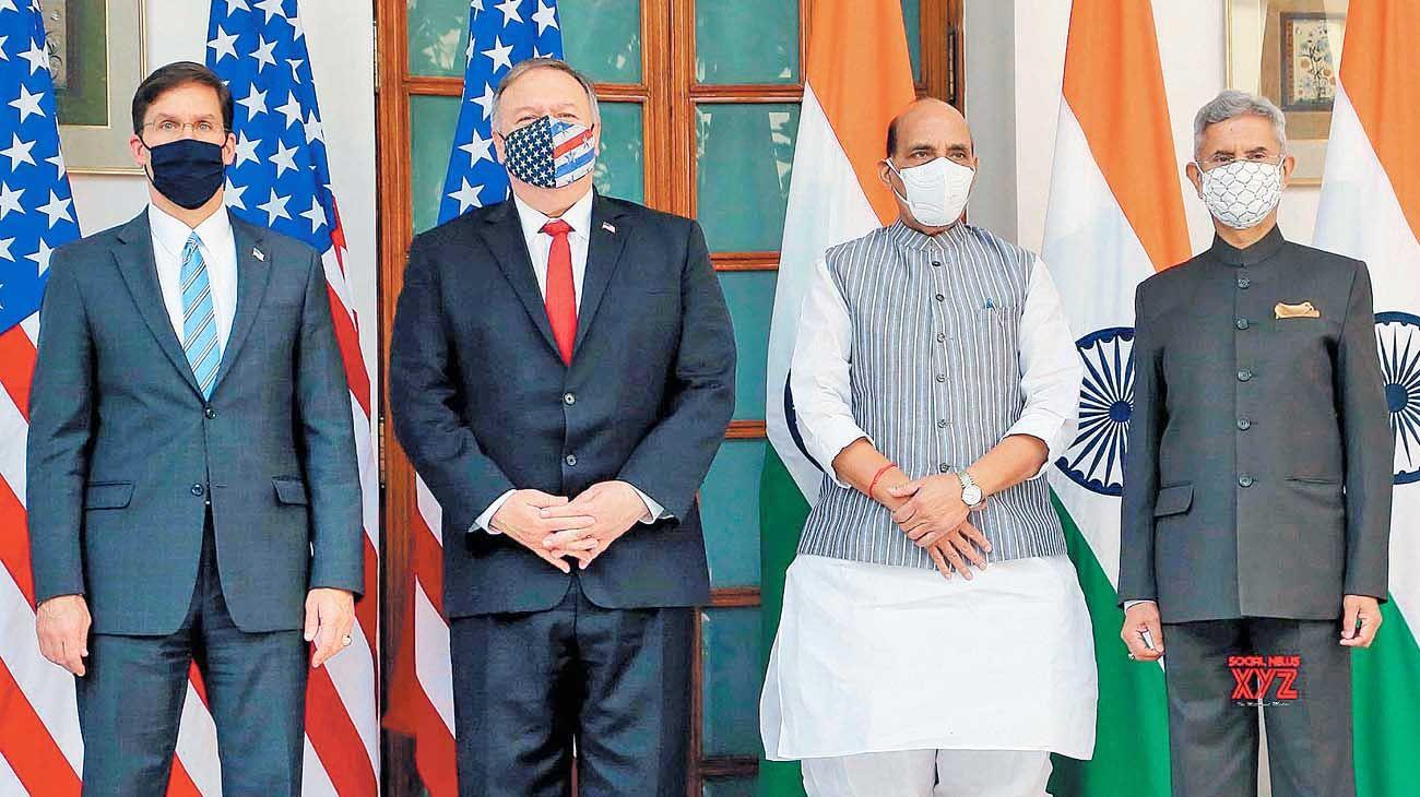 India. El secretario de Estado, Mike Pompeo, y una visita con críticas a China.