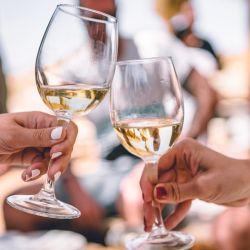 Las mujeres y el vino.