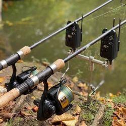 En los lagos de Palermo un pescador capturó una carpa de 13,5 kg, que devolvió al agua.