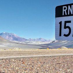 Camino al Paso por la RN 60.