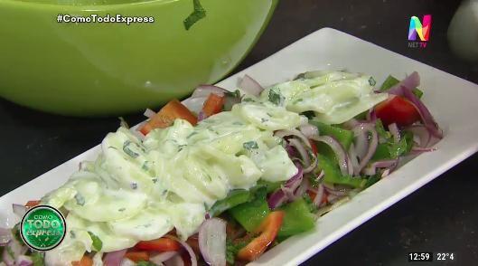 ensalada tipo griega
