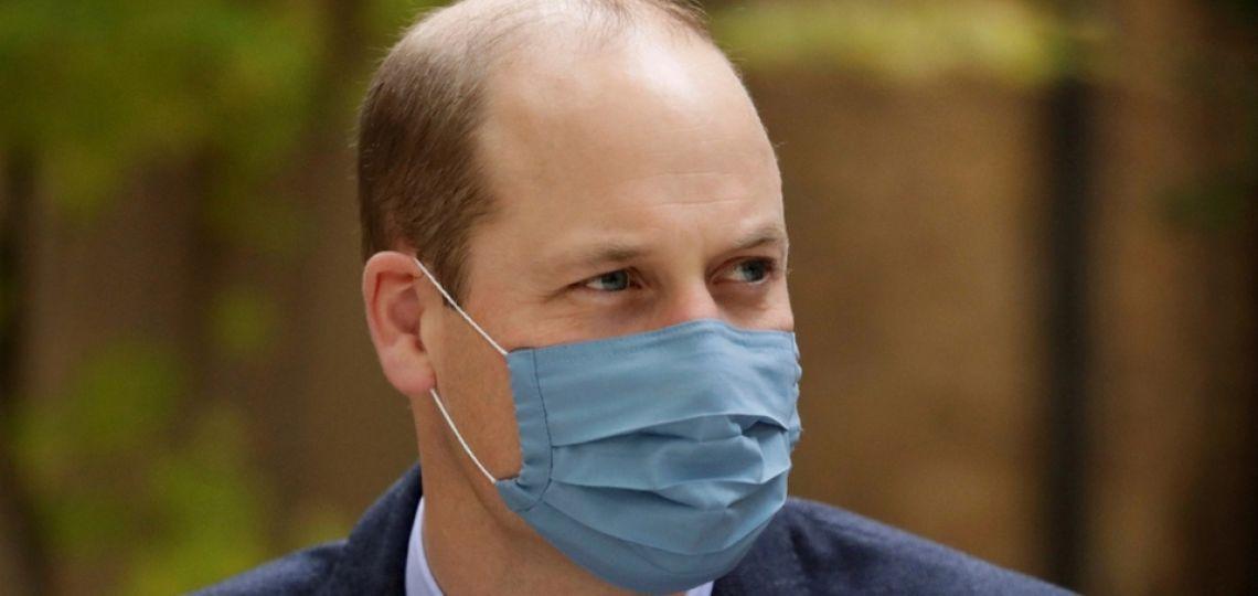 El príncipe William tuvo COVID-19 y lo ocultó