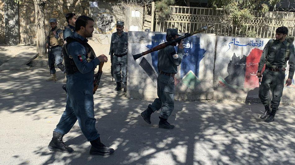 Atentado en la Universidad de Kabul.