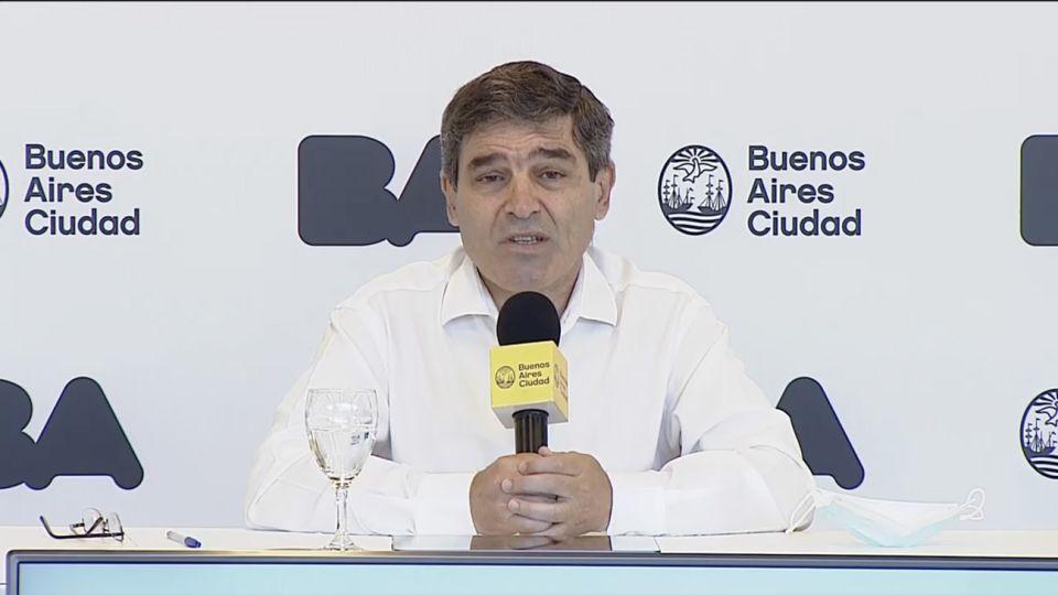 Fernán Quiroz clases conferencia de prensa
