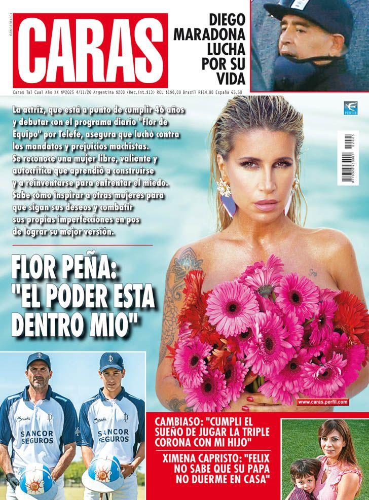 "Flor Peña: ""El poder está dentro mio"""