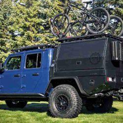 El fabricante americano Jeep presentó el Gladiator Top Dog Concept, un prototipo de pick-up pensado para la aventura.