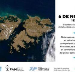 Hoy se conmemoran 200 años del primer izamiento de nuestro Pabellón Nacional en las Islas Malvinas.