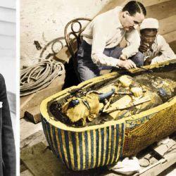 El arqueólogo británico Howard Carter halló la tumba del joven faraón griego en el Valle de los Reyes.