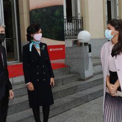 El exquisito look de la reina Letizia