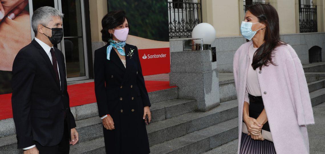 El exquisito look de la reina Letizia con el que dio cátedra de estilo