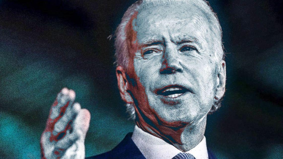 Democratic presidential hopeful Joe Biden.