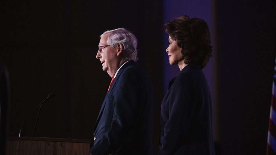 Senator Mitch McConnell Holds Election Night Party
