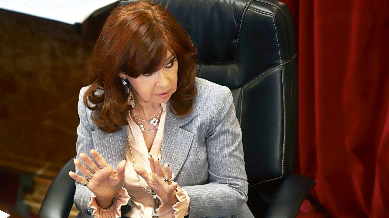 Cristina Kirchner.   Foto:Cedoc.