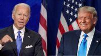 Biden o Trump por la presidencia.