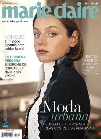 La nueva Lady Di en tapa de Marie Claire noviembre