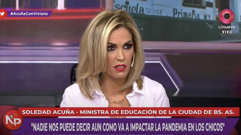 """Viviana Canosa a Baradel: """"Póngase las pilas o lo voy a buscar"""""""