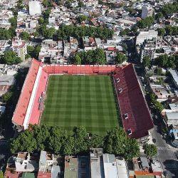 Así se ve el estadio de Argentinos Juniors desde un dron.