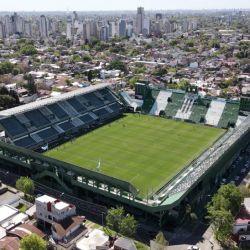 Así se ve el estadio de Banfield desde un dron