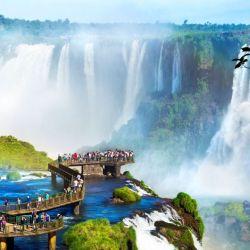 La segunda àrea protegida natural de la Argentina fue el Parque Nacional Iguazú.